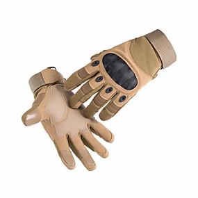 Недорогие Мотоциклетные перчатки-спортивные состязания на открытом воздухе противоскольжения, езда на велосипеде обучение боевые тактические перчатки