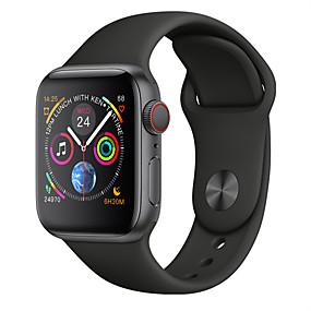 povoljno Pametni satovi-w54 pametni sat android 4.4 1.54 zaslon bluetooth 4.0 mtk2502c monitor otkucaja srca pametni sat muškarci nošenje uređaja smartwatch