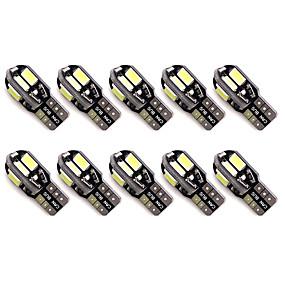 Недорогие Задние фонари-10 шт. T10 Автомобиль Лампы 2 W SMD 5630 300 lm 8 Светодиодная лампа Подсветка для номерного знака / Задний свет / Боковые габаритные огни Назначение Универсальный Все года