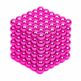 olcso Újdonságok-64-1000 pcs 4mm Mágneses játékok mágneses Balls Építőkockák Super Strong ritkaföldfémmágnes Neodímium mágnes Puzzle Cube Neodímium mágnes Stressz és szorongás oldására Enyhíti ADD, ADHD, a szorongás