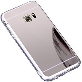 voordelige Galaxy S7 Edge Hoesjes / covers-hoesje Voor Samsung Galaxy S7 edge Spiegel Achterkant Effen Hard TPU