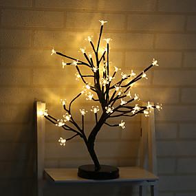 رخيصةأون مصابيح ليد مبتكرة-1PC الصمام ليلة الخفيفة / الحضانة ضوء الليل أبيض كول / أصفر بطاريات آ بالطاقة إبداعي 5 V