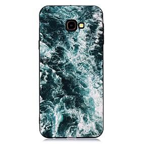 voordelige Galaxy J3 Hoesjes / covers-hoesje Voor Samsung Galaxy J7 (2017) / J6 (2018) / J5 (2017) Schokbestendig / Mat / Patroon Achterkant Landschap TPU