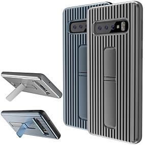 voordelige Galaxy S6 Edge Plus Hoesjes / covers-hoesje Voor Samsung Galaxy S9 / S9 Plus / S8 Plus met standaard Achterkant Effen Zacht TPU