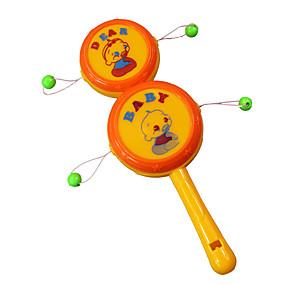 olcso Klasszikus játékok-Csörgődob Zvuk Uniszex Gyerekek Baba Játékok Ajándék