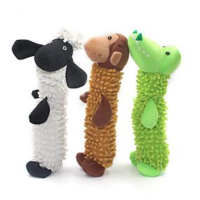 olcso Macskaruhák és kiegészítők-Rágójátékok Püsh játékok Nyüszítő játékok Fogtisztító játék Kutyák Házi kedvencek Játékok 1db Háziállat-barát Állatok Plüs Ajándék