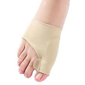 povoljno Masažeri za cijelo tijelo-1par separator nožnih prstiju hallux valgus bunion ispravljač orthotics stopala kosti palac podešavanje korekcija pedikura čarapa ispravljač