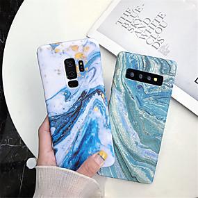 Недорогие Чехлы и кейсы для Galaxy Note 8-Кейс для Назначение SSamsung Galaxy Note 9 / Note 8 IMD / С узором Кейс на заднюю панель Мрамор Твердый ПК