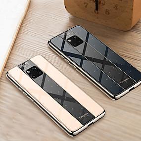 Недорогие Чехлы и кейсы для Huawei Mate-Чехол для телефона для Huawei Mate 20 Pro Mate 20 X MATE 20 противоударная гальваническое покрытие ПК зеркало твердый переплет для Huawei Mate 10 Pro Mate 10 ТПУ край