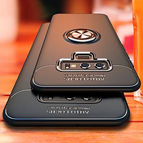 Недорогие Чехлы и кейсы для Galaxy Note 8-Роскошный кронштейн кольцо противоударный чехол для Samsung Galaxy Note 9 полный чехол для Samsung Note 8 ТПУ мягкий силиконовый чехол