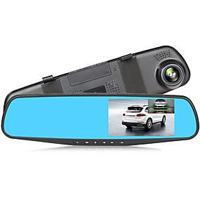 voordelige Auto DVR's-addkey nachtzicht auto dvr camera achteruitkijkspiegel digitale videorecorder auto camcorder dash cam fhd 1080p single len registrator