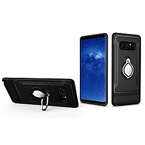 Недорогие Чехлы и кейсы для Galaxy Note 8-Кейс для Назначение SSamsung Galaxy Note 8 Кольца-держатели / Ультратонкий Кейс на заднюю панель Пейзаж ПК