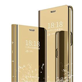 Недорогие Чехлы и кейсы для Huawei Mate-Кейс для Назначение Huawei Huawei Nova 4 / P10 Plus / P10 Lite Защита от удара / Покрытие / Авто Режим сна / Пробуждение Чехол Однотонный Твердый ПК