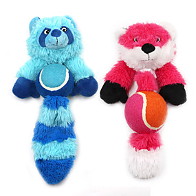 olcso Macskaruhák és kiegészítők-Püsh játékok Nyüszítő játékok Fogtisztító játék Kutyák Házi kedvencek Játékok 1db Háziállat-barát Állatok Plüs Ajándék