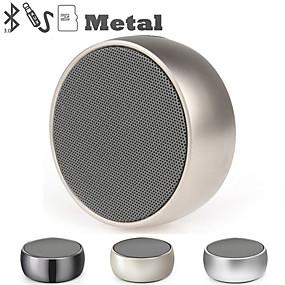 olcso Napi akciók-bs01 vezeték nélküli hangszóró fém mini hordozható mélynyomó hang mikrofon tf kártya mp3 zenelejátszó hangszóróval