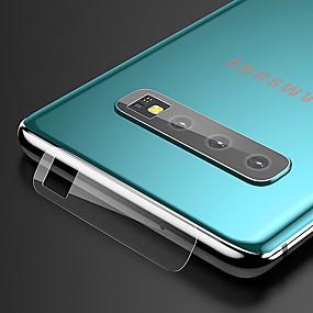 Недорогие Чехлы и кейсы для Galaxy S-SamsungScreen ProtectorGalaxy S10 HD Протектор объектива камеры 1 ед. Закаленное стекло