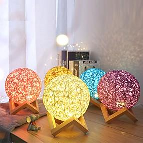 povoljno LED noćna rasvjeta-3d svjetiljka vodio stol noćno svjetlo multicolor crtani igračka luminaria