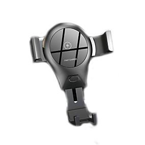 Недорогие Автомобильные зарядные устройства-Ци беспроводное быстрое зарядное устройство зарядки автомобильный держатель для Samsung Galaxy S10 S9 Plus