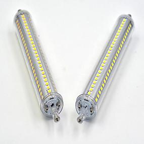 povoljno LED klipaste žarulje-15 w led kukuruzne svjetiljke 1200-1300 lm r7s ugradbene retrofiltrirane 144led led zrnca smd 2835 zatamnjena topla bijela hladno bijela 85-265 v / 1 pc