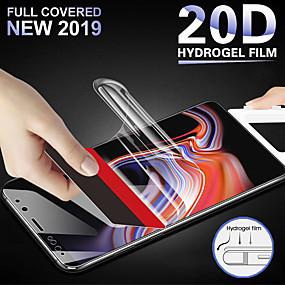 Недорогие Чехлы и кейсы для Galaxy S-Защитная плёнка для экрана для Samsung TPG Hydrogel Защитная пленка для экрана Взрывозащищенный