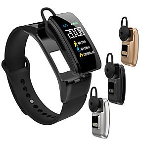 cheap Smart Wristbands-B31 Smart Bracelet Bluetooth Wireless Headset 2 in 1 Heart Rate Blood Pressure Monitor Smart Watch Bluetooth Wireless Phone Call