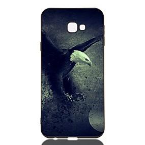 voordelige Galaxy J5(2017) Hoesjes / covers-hoesje voor Samsung Galaxy J730 / J6 (2018) / J530 Schokbestendig / Mat / Patroon Achterkant Animal TPU Soft voor Galaxy J330 / J6 Plus / J4 Plus / J4 2018 / M10 / M20 / M30 / J310 / J510 / J3 / J2
