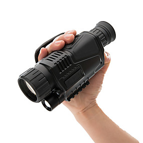 olcso Kempingezés & hátizsákos utazás-5 X 40 mm Éjszakai látás Monokuláris Hordozható Night vision Kézi Više premaza BAK4 Kempingezés és túrázás Vadászat Halászat Night vision
