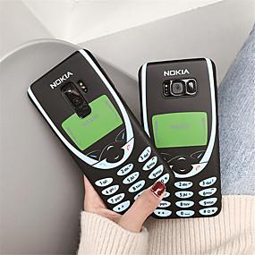 Недорогие Чехлы и кейсы для Galaxy Note 8-Кейс для Назначение SSamsung Galaxy Note 9 / Note 8 IMD / С узором Кейс на заднюю панель Слова / выражения Мягкий ТПУ