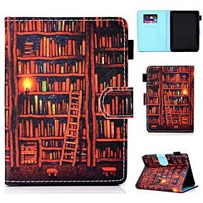 Недорогие Чехол для других планшетов-Кейс для Назначение KOBO kobo clara HD Бумажник для карт / Защита от удара / со стендом Чехол Мультипликация Твердый Кожа PU