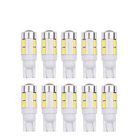 Недорогие Задние фонари-10 шт. T10 5630 10smd w5w из светодиодов 194 168 w5w сторона автомобиля клин хвост лампа для чтения лампа автомобиля указывают авто лампа 12 В