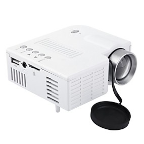 povoljno Projektori-uc28a mini prijenosni vodio projektor LCD 1080p hd multimedija kućno kino kazalište usb tf hdmi av vodio projektor za kućnu upotrebu