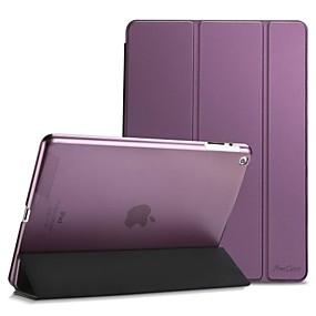 povoljno iPad 2/3/4 maske-Θήκη Za Apple iPad 4/3/2 Zaokret / Mutno / Origami Korice Jednobojni PU koža