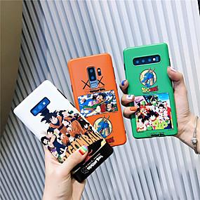Недорогие Чехлы и кейсы для Galaxy Note 8-Кейс для Назначение SSamsung Galaxy Note 9 / Note 8 IMD / С узором Кейс на заднюю панель Мультипликация Мягкий ТПУ