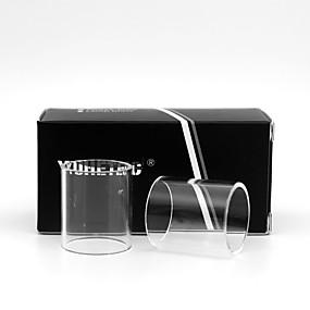 cheap Electronic Cigarette-YUHETEC Replacement Glass Tube for Digiflavor Siren 2 MTL 22MM 2ML 2pcs