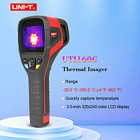 رخيصةأون آلات الحرارة-يوني تي uti160g تصوير الحراري -20 c إلى 350c التفتيش الصناعي دليل التركيز الحراري التصوير ترمومتر usb الاتصالات