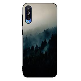 Недорогие Чехлы и кейсы для Galaxy A5(2016)-Кейс для Назначение SSamsung Galaxy A6 (2018) / A6+ (2018) / Galaxy A7(2018) Защита от удара / Матовое / С узором Кейс на заднюю панель Пейзаж ТПУ