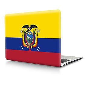 "povoljno MacBook Pro 13"" maske-ekvador zastava pvc tvrdi poklopac ljuska za macbook pro zraka retina telefon slučaju 11/12/13/15 (a1278-a1989)"
