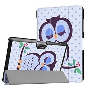 Недорогие Чехол для других планшетов-Кейс для Назначение Acer Acer Iconia One 10 B3-A30 / Acer Iconia One 10 A3-A40 Защита от удара / со стендом / Ультратонкий Чехол Животное Твердый Кожа PU