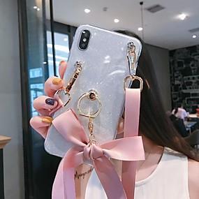voordelige Galaxy A8 Hoesjes / covers-hoesje Voor Samsung Galaxy A5(2018) / A6 (2018) / Galaxy A7(2018) Glitterglans Achterkant Glitterglans TPU