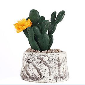 رخيصةأون أزهار اصطناعية-زهور اصطناعية 1 فرع كلاسيكي الحديث المعاصر النمط الرعوي النباتات العصارية أزهار الطاولة