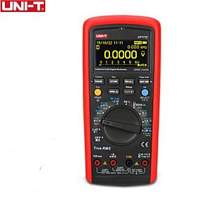 povoljno Digitalni multimetri i osciloskopi-uni-t ut171c industrijski rms digitalni multimetar / oled zaslon / loz niska impedancija ulaz / vfc mjerenje frekvencije / usb / bluetooth