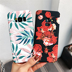 voordelige Galaxy S7 Edge Hoesjes / covers-hoesje Voor Samsung Galaxy S9 / S9 Plus / S8 Plus Glow in the dark / Patroon Achterkant Bloem Hard PC