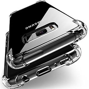voordelige Galaxy J7 Hoesjes / covers-hoesje Voor Samsung Galaxy J7 (2017) / J7 / J5 (2017) Schokbestendig / Stofbestendig Achterkant Transparant Zacht TPU