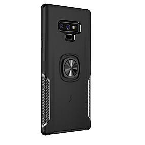 Недорогие Чехлы и кейсы для Galaxy Note 8-Кейс для Назначение SSamsung Galaxy Note 9 / Note 8 Магнитный Кейс на заднюю панель броня Твердый ТПУ