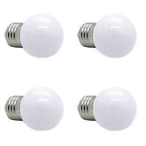 ieftine Becuri LED Glob-4 buc 1 W Bulb LED Glob 90-120 lm E26 / E27 G45 12 LED-uri de margele SMD 2835 Decorativ Alb Cald Alb Natural Alb 220-240 V