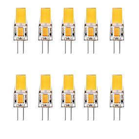 お買い得  LED 2ピン電球-10個 2.5 W LED2本ピン電球 3000 lm G4 1 LEDビーズ 温白色 ホワイト 12 V