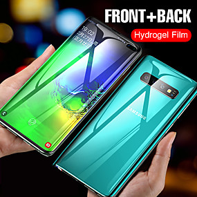 cheap Galaxy S Screen Protectors-Long0156 15D front and rear curved hydrogel soft film for Samsung Galaxy S10E S8 S9 S10 PLUS