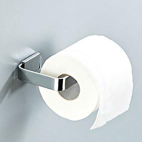 رخيصةأون أدوات الحمام-حاملة ورق التواليت تصميم جديد معاصر / الحديث نحاس 1PC - حمام / حمام الفندق مثبت على الحائط