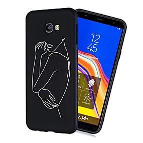 voordelige Galaxy J3(2017) Hoesjes / covers-hoesje Voor Samsung Galaxy J7 (2017) / J6 (2018) / J5 (2017) Schokbestendig / Mat / Patroon Achterkant Tegel Zacht TPU