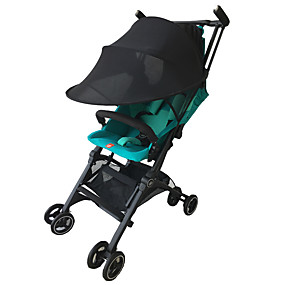 cheap Umbrellas-Baby/Child Pushchair Stroller Pram Buggy Sun Shade Canopy Cover Universal Black